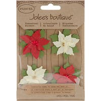 Jolee's Boutique Poinsettias Christmas Stickers
