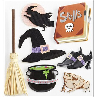 Jolee's Boutique Witches Dimensional Stickers