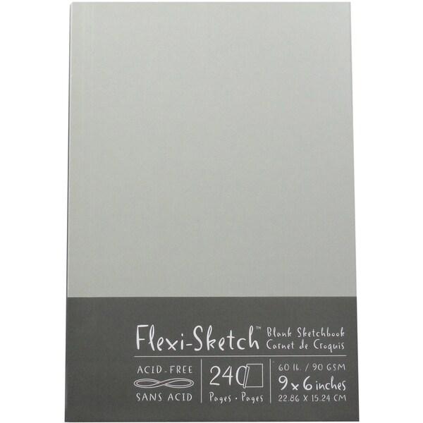 Flexi-Sketch Blank Sketchbook 9X6in-Mist