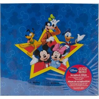 Mickey Mouse & Friends Postbound Scrapbook Album