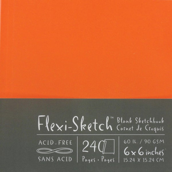 Flexi-Sketch Blank Mandarin Sketchbook