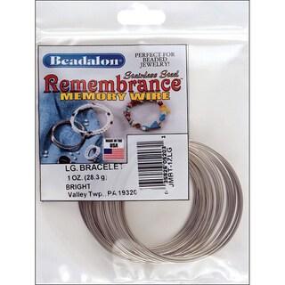 Memory Wire Bracelet-Large Bright
