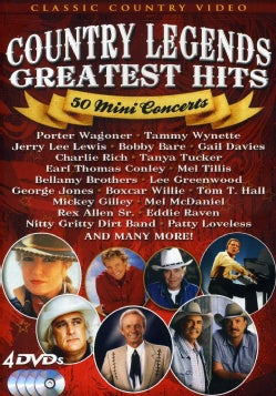 Country Music Legends: 50 Mini Concerts (DVD)