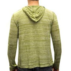 Something Strong Men's Green Pullover Hoodie - Thumbnail 1