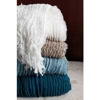 Charlotte Acrylic Ruffle Throw