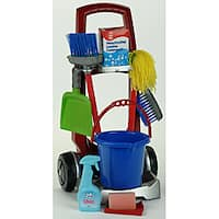 Theo Klein Cleaning Trolley Housekeeping Toy