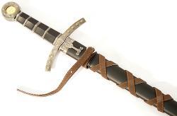 King Arthur 23-inch Round Table Excalibur Sword - Thumbnail 2