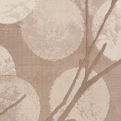 Meticulously Woven Tan Anemone Abstract Rug (5'3 x 7'6)