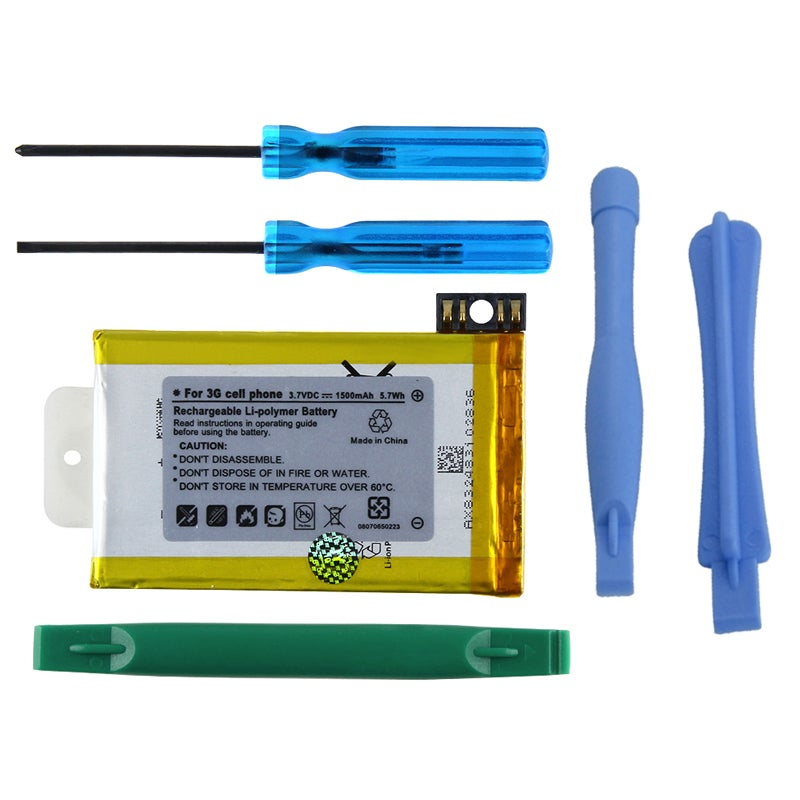 INSTEN Battery/ Tool Set for Apple iPhone 3G