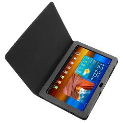 BasAcc Black Leather Case for Samsung Galaxy Tab P7500