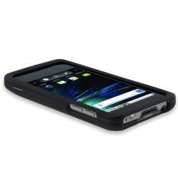 INSTEN Black Rubber Coated Phone Case Cover for LG G2x/ T-Mobile G2x - Thumbnail 1