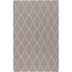 Hand-woven Gray Artemis Wool Area Rug (9' x 13') - Thumbnail 0