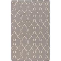Hand-woven Gray Artemis Wool Rug (8' x 11')