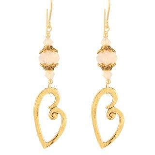 Victorian Valentine Crystal Earrings