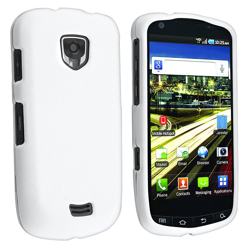 BasAcc White Case for Samsung Droid Charge SCH-i510/ i520