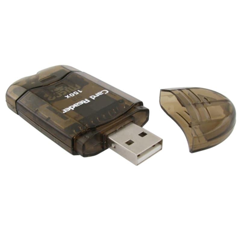 Insten USB 2.0 SDHC/ SD/ MMC Memory Card Reader Adapter