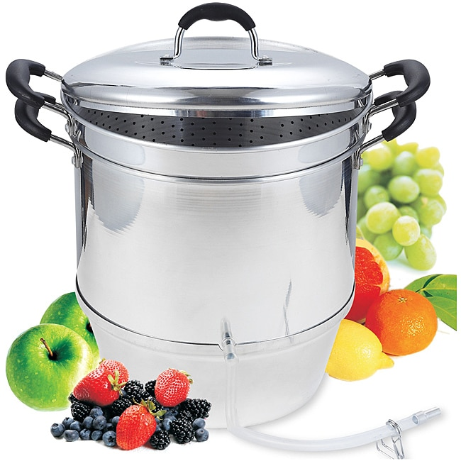 Cook N Home Aluminum 11-quart Steam Juicer