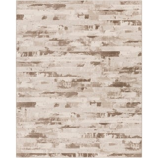 """Beige A x oloti Abstract Area Rug - 7'10"""" x 10'"""