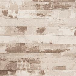 Meticulously Woven Beige Axoloti Abstract Rug (5'3 x 7'6) - Thumbnail 2