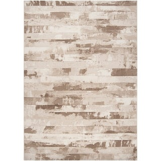 "Beige A x oloti Abstract Area Rug - 5'3"" x 7'6"""