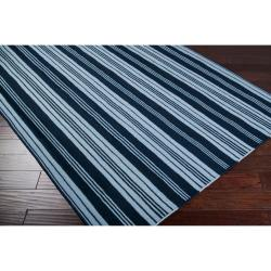 Country Living Hand-woven Blue Archimedes Wool Rug (8' x 11') - Thumbnail 1