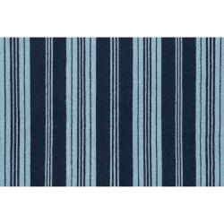 Country Living Hand-woven Blue Archimedes Wool Rug (8' x 11') - Thumbnail 2