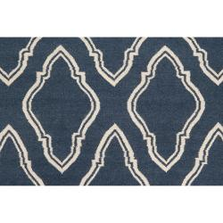 Hand Woven Blue Loch Wool Rug 3 6 X 5 6 Free Shipping