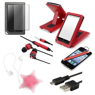 BasAcc Case/ Protector/ Cable/ Headset for Barnes and Noble Nook Color
