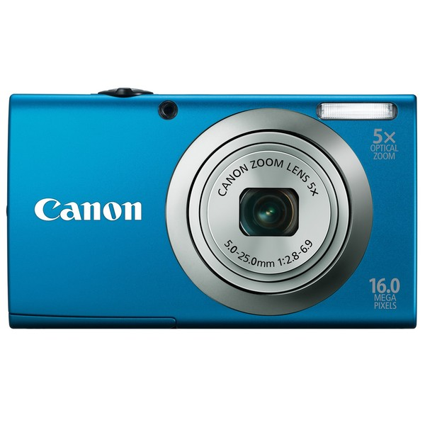 Canon Powershot A2300IS 16MP Blue Digital Camera