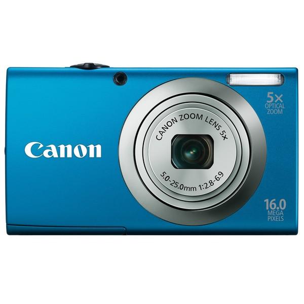 Canon Powershot A2300IS 16MP Blue Digital Camera