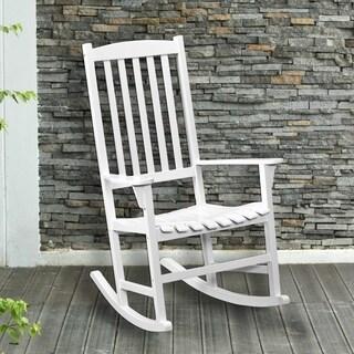 Harper Blvd Anton Eucalyptus White Porch Rocker