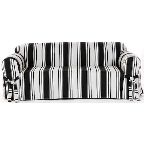 Classic Slipcovers Classic Stripe Sofa Slipcover