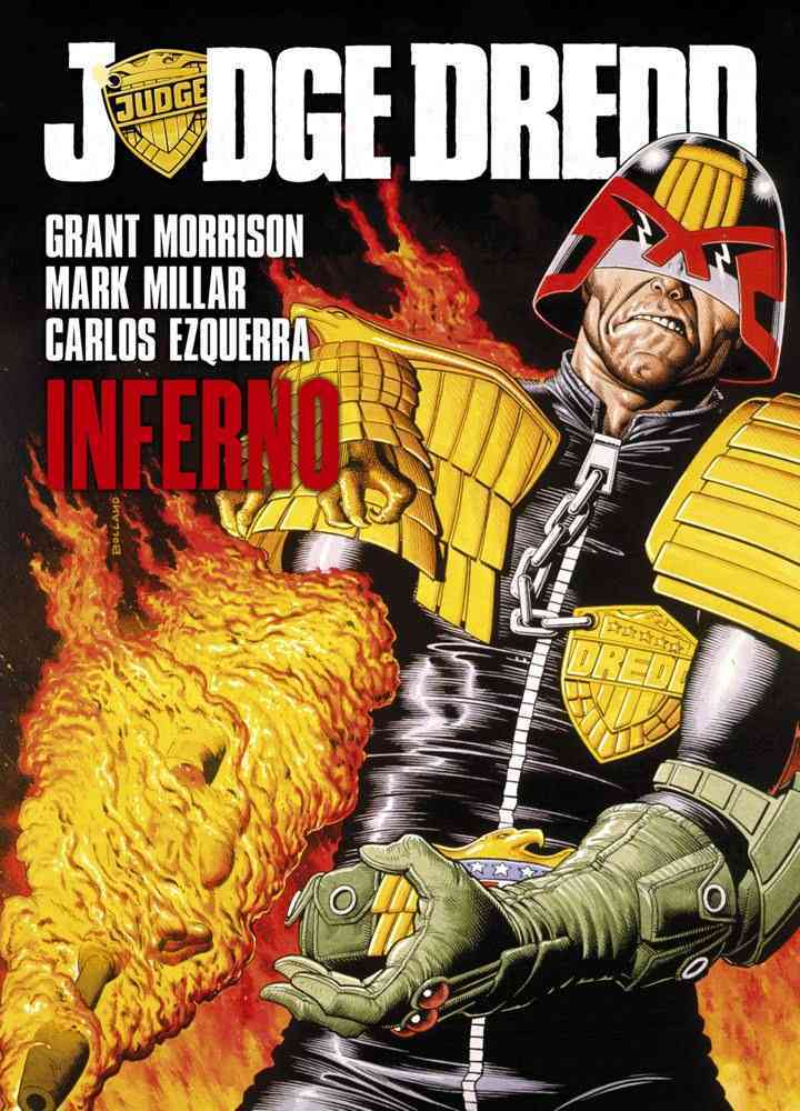 Judge Dredd: Inferno (Paperback)