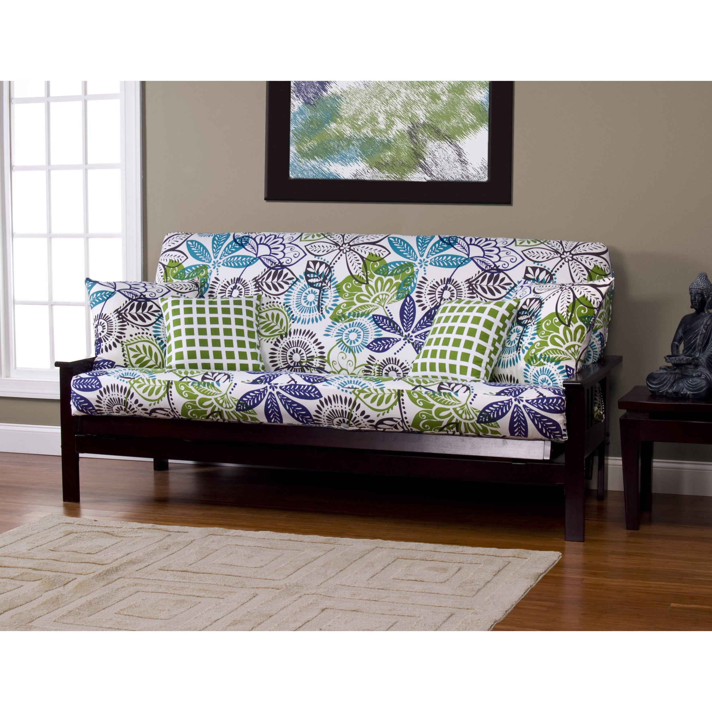 Bali Queen Size Futon Cover On