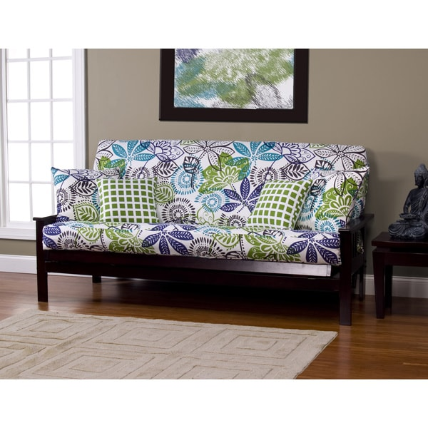 shop bali queen size futon cover free shipping today overstock 6559763. Black Bedroom Furniture Sets. Home Design Ideas