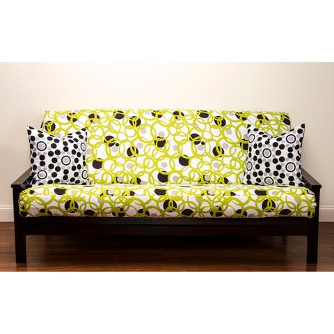 Siscovers Modern Circles Full Size Futon Cover