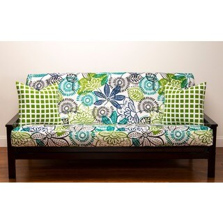 batik print full size futon cover crayola purrty cat futon cover   free shipping today   overstock      rh   overstock
