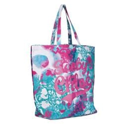 See By Chloe White Multicolored Oversized Tote - Thumbnail 1