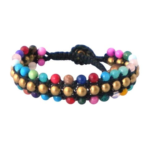 Handmade Harmony BeadsToggle Bracelet (Thailand)