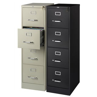 Hirsh 22-inch Deep 4-drawer Letter Size Commercial Vertical File Cabinet