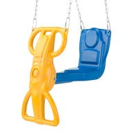 Swing-N-Slide Children's Plastic and Metal Wind Rider Glider Swing