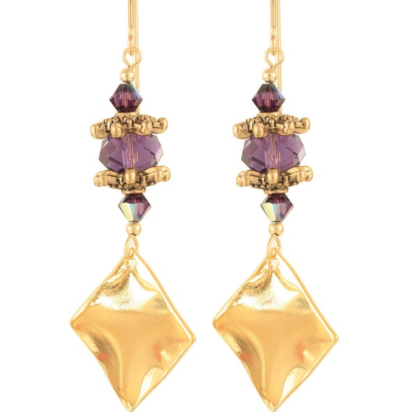 Nighttime in Venice Crystal Earrings