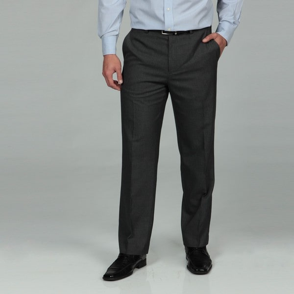 Britches By Samtex Men's Grey Dress Pants