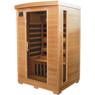 Mountain Ridge 2-person Hemlock Carbon Heater Infrared Sauna
