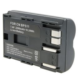 INSTEN Battery for Canon EOS/ 20D/ 30D/ 40D/ 5D/ 10D/ 50D/ BP-511 (Pack of 2)