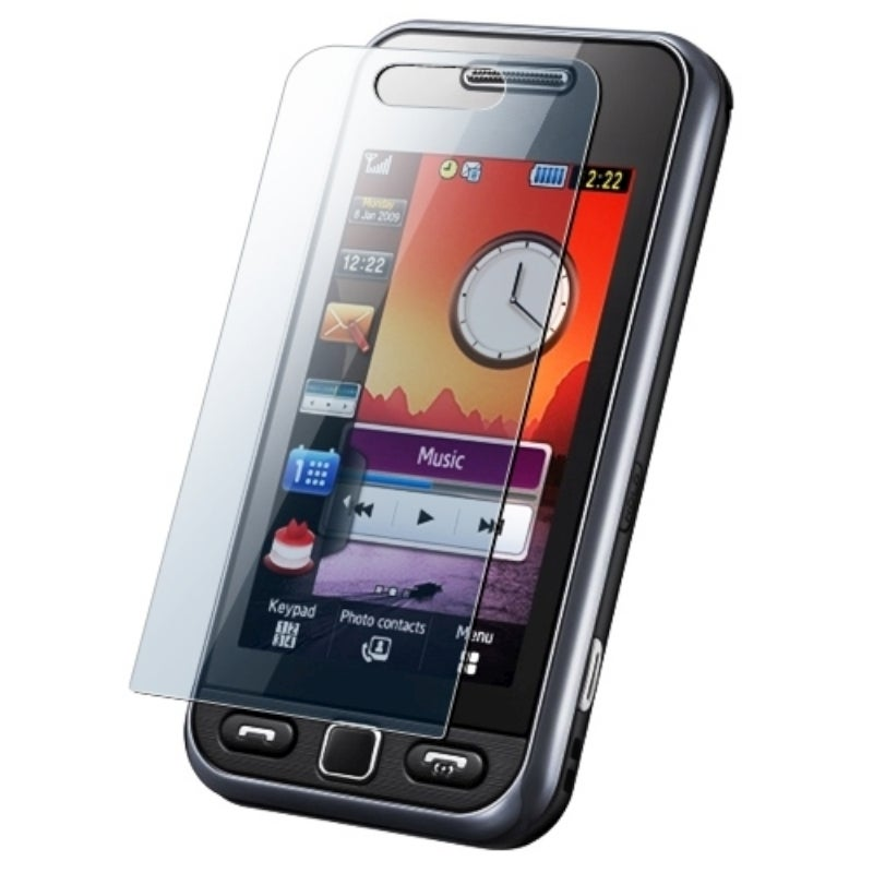 BasAcc Reusable Screen Protector for Samsung S5230C / S5233S / Star
