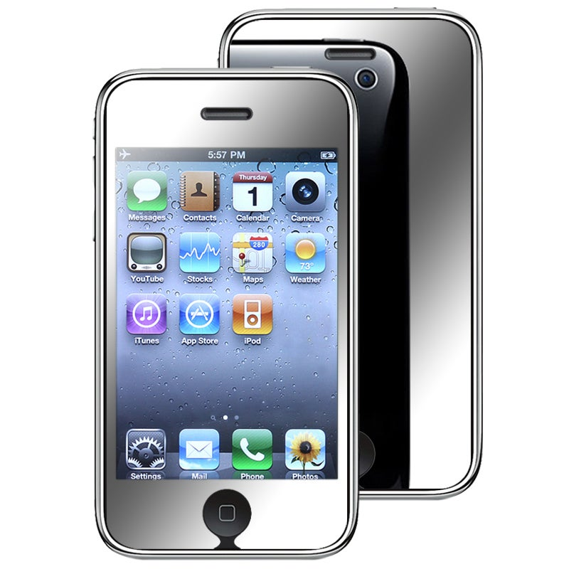INSTEN Mirror Screen Protector for Apple iPhone 3G / iPhone 3GS