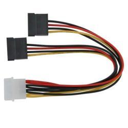 INSTEN Molex Connecter Serial ATA Power Splitter Cables (Pack of 5)