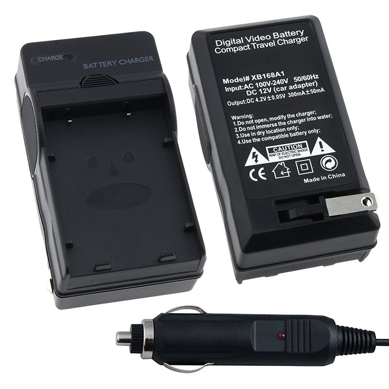 INSTEN Compact Digital Camera Battery Charger Set for Nikon EN-EL5