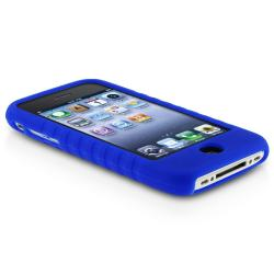 BasAcc 3-piece Case/ Screen Protector for iPhone 3G/ 3GS